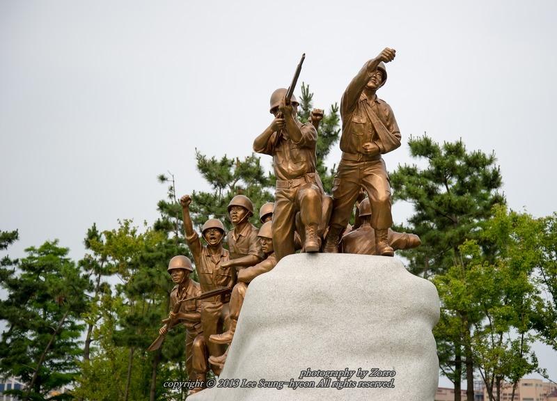 도하작전 기념비