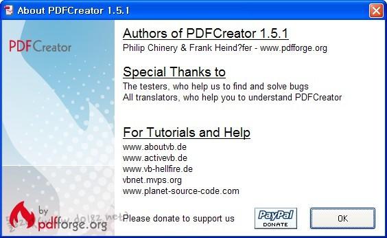 PDFCreator v.1.5.1
