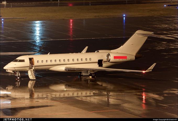 지난해 1월 27일 스위스 쮜리히 인근공항에 착륙한 빌게이츠회장 전용기