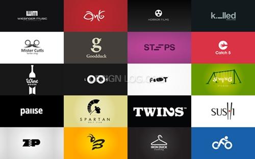로고디자인, 독특하고 창의적인 사례 20가지