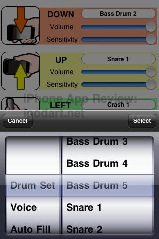 아이폰 드럼 연주 모션 드럼 -MotionDrum