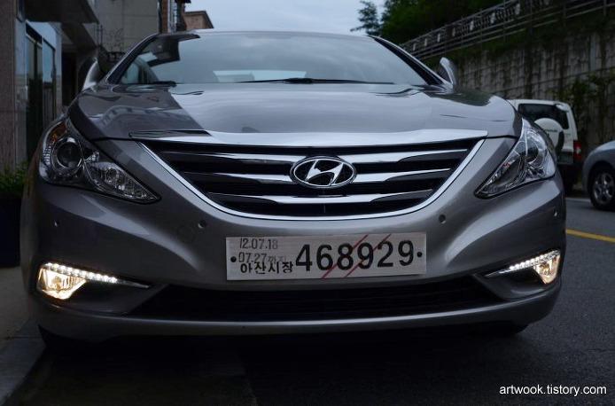 Led Fog Lamps From 2013 Kdm Sonata On Ebay Hyundai