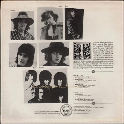 Deep Purple - The Book Of Taliesyn (Lp) (1968)