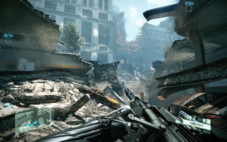 크라이시스2, 크라이시스2 무기, Crysis2, Crysis, 크라이시스, EVGA, GTX560 Ti, 플레이 영상, IT, 게임, 게임영상, 공략, 트레이너, 크랙, 치트,크라이시스2 게임을 EVGA GTX560 Ti 를 이용해서 한번 해 봤습니다. 제 경우에는 FPS 게임중에서도 좀 현실감 있는 게임 또는 좀 빠른 전개가 있고 총 쏘다가 갑자기 튀어나온 적에 놀래서 마우스를 놓을정도의 게임을 선호하는 편인데요. 크라이시스2는 현실보다는 좀 멀긴 하지만 미래의 무기들을 미리 써볼 수 있고 투명해져서 사라지는 기술과 파워모드 등을 활용해서 전략을 써서 적을 물리치기도 하고 숨었다가 다시 공격했다가 하는등 다양한 기술을 구사할 수 있죠. 크라이시스 1은 생각해보면 너무 쉽지 않았나 생각이 들정도로 크라이시스2를 어려운 모드로 해서 해보니 정말 어렵네요. 같은 지점에서 몇번이나 죽어서 다시 생각하고 다시 생각해서 해야할때도 있더군요.    게임을 해본 이유라면 EVGA GTX 560 Ti 그래픽카드를 데스크탑에 사용중인데 성능도 알아볼 겸 , 소음도 알아볼 겸해서 해 봅니다. 엄청난 무기가 쏟아지는 전투씬 이외에는 거의 않끊히고 게임을 할 수 있다고 볼 수 있겠네요. 끊히지 않고 박진감 넘치는 게임은 몰입도를 높이는데요. 그래서인지 저도 실내로 들어가서 어두운 상태에서 갑자기 튀어나오는 적을 맞이할 때는 정말 놀래서 마우스를 막 돌리게 될 경우도 생기더군요. 물론 많지는 않지만요.