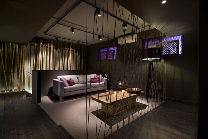 Interior Exhibition Vmd Aveda Lifestyle Salon Spa By