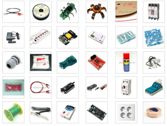 electronic components, electronic parts, stock, made in Korea