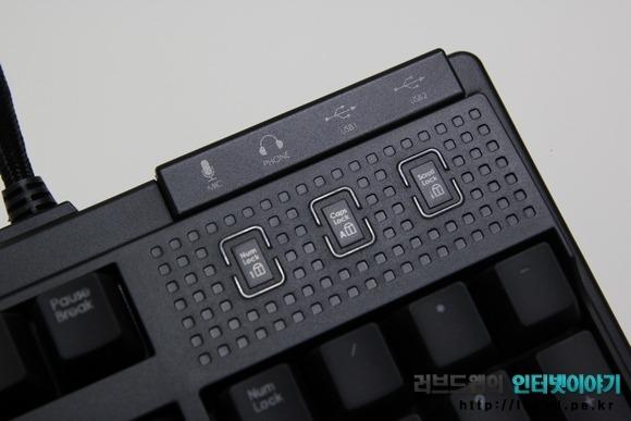 제닉스 Tesoro M7 LED SE 기계식 키보드