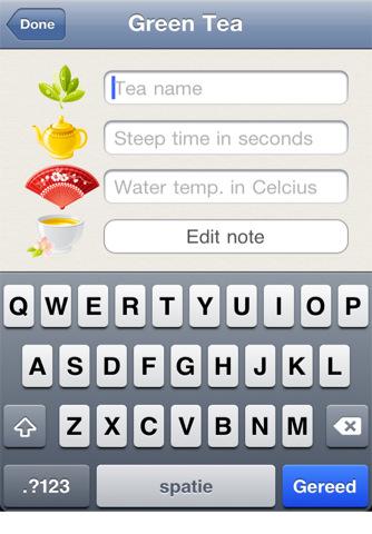 Tea App 차 녹차 끓이기 타이머
