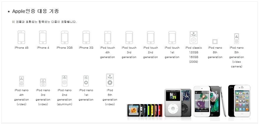 올라소닉 USB 스피커 TW-D7IP 사용 가능 기기