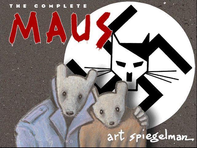 쥐 (MAUS) - 아트 슈피겔만 (Art Spiegelman)
