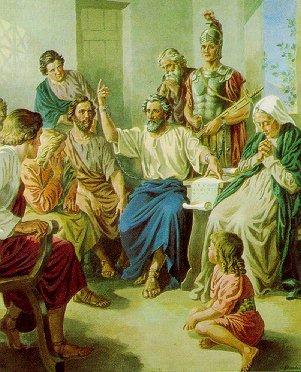 로마에서 바울의 전도