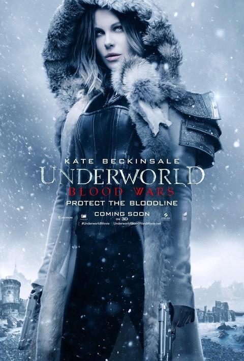 언더월드 : 블러드 워 (Underworld : Blood Wars) 판타지 액션영화