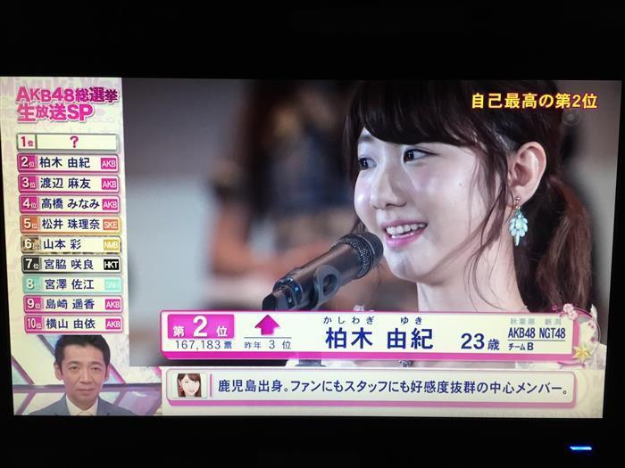 일본 여성 그룹 AKB48 총선거를 생방송으로 3시간 30분!