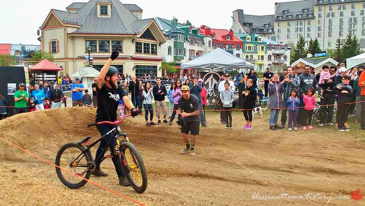 캐나다 산악자전거 대회 이벤트입니다