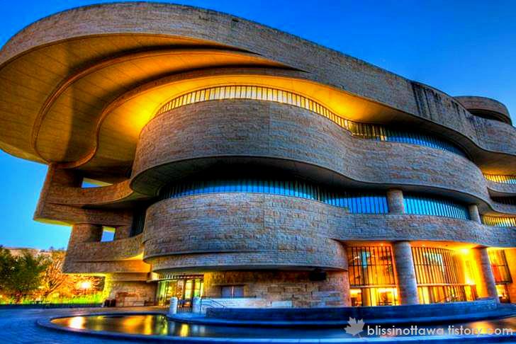 미국 국립 아메리카 인디언 박물관 입니다