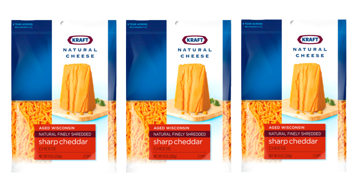 크래프트 내츄럴 치즈 패키지