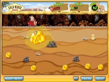 금캐기 게임 GOLD MINER 2