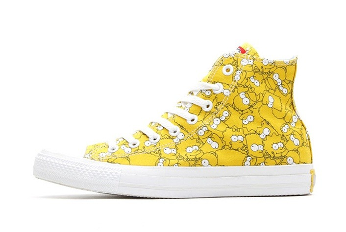 seoulsanghoe 2014 the simpsons x converse collaboration 2014 x. Black Bedroom Furniture Sets. Home Design Ideas