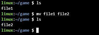 리눅스 mv 명령어 파일 이름 변경