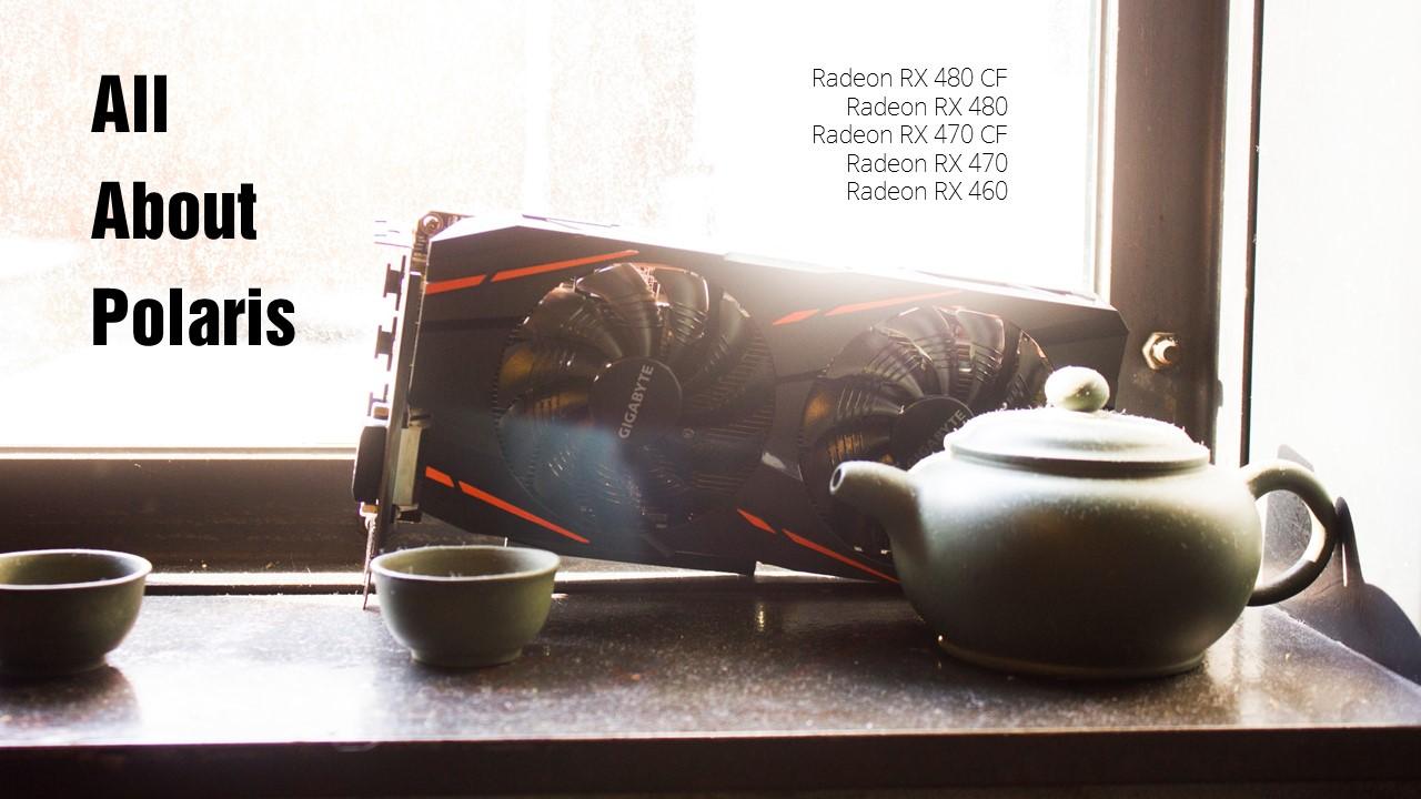 Inside Your Polaris : 라데온 RX 480, 470 크파 성능은?