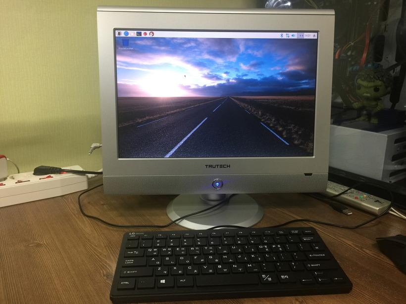 라즈베리파이3 라즈비안 데스크탑 리눅스 컴퓨터