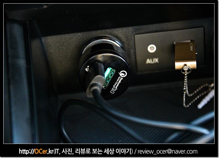 aukey, 아오키, 차량용고속충전기, 차량용충전기, 퀵차지3.0, 스마트폰, 스마트폰 충전기, it, 리뷰, CC-T7