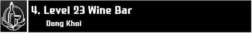 Level 23 Wine Bar