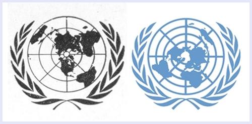유엔 로고