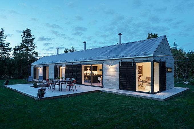 *세컨드 하우스 [ GWSK Arkitekter ] holiday house in Bläsinge