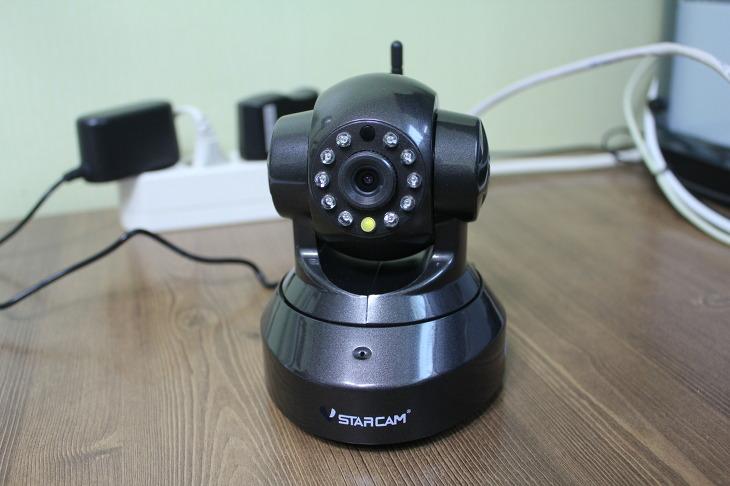 홈CCTV IP카메라 VSTARCAM-100E 개봉기 고화질 와이드뷰 스마트폰 연동 무선 WiFi MicroSD 지원
