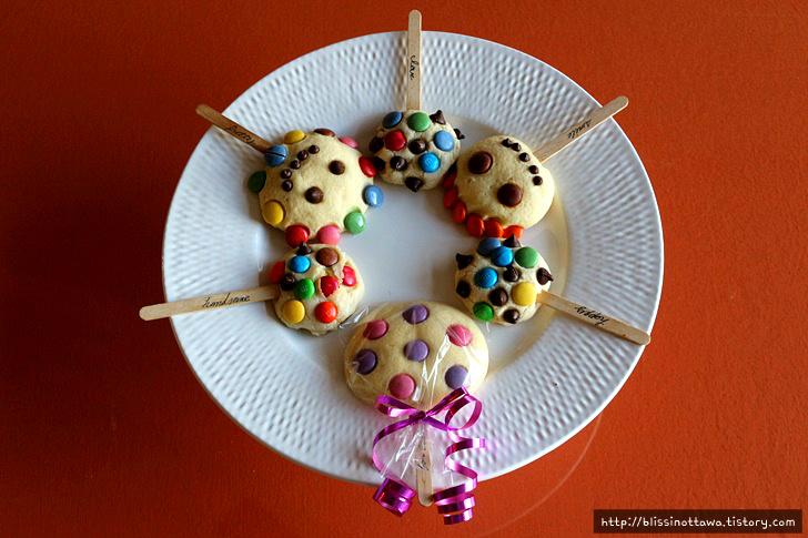 파티 디저트 선물 쿠키 포장법