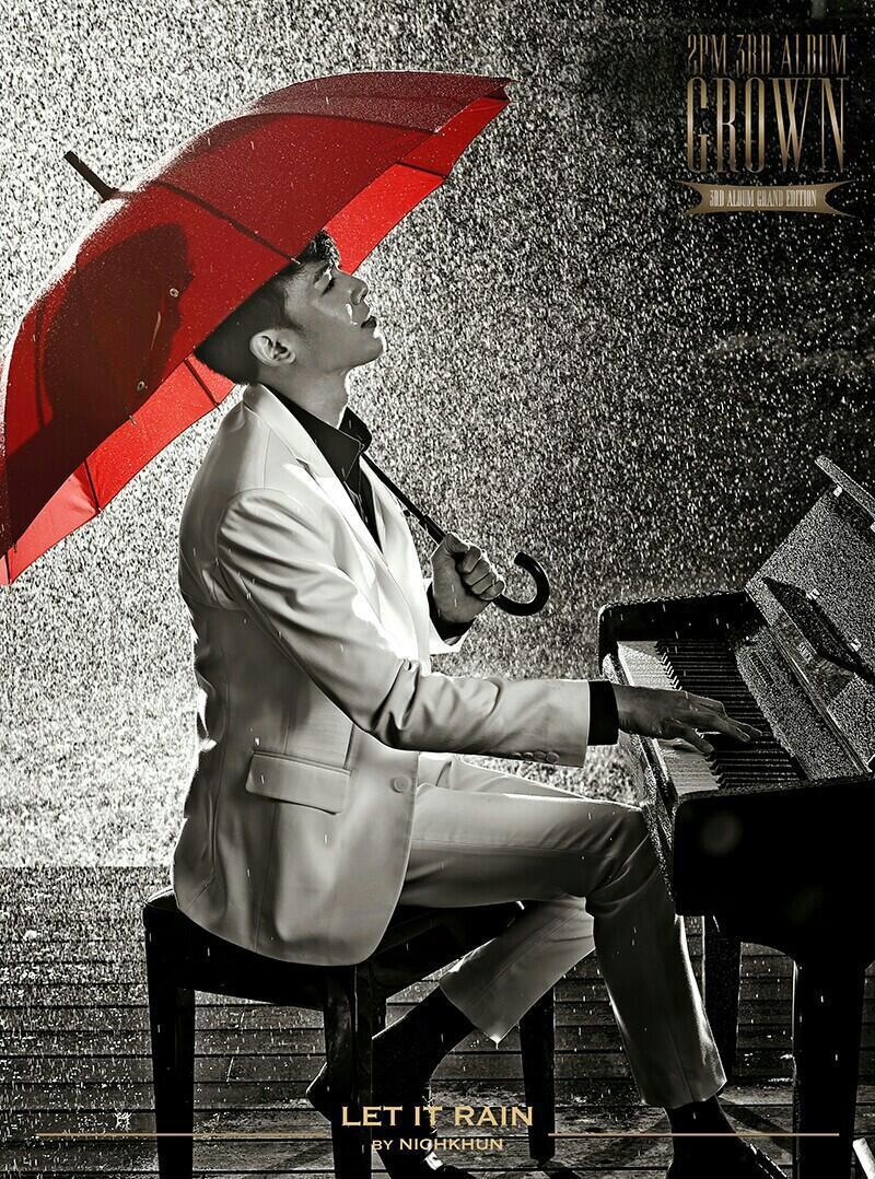 닉쿤 Let it rain 노래 가사