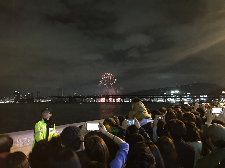 부산 불꽃축제 2016 마린시티