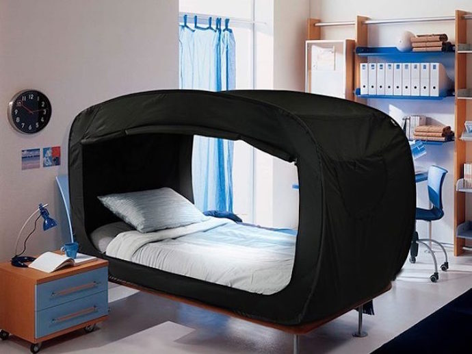 Engi S Conpaper 엔지의 콘페이퍼 프라이버시 지켜주는 침대 텐트 Pop Up Bed
