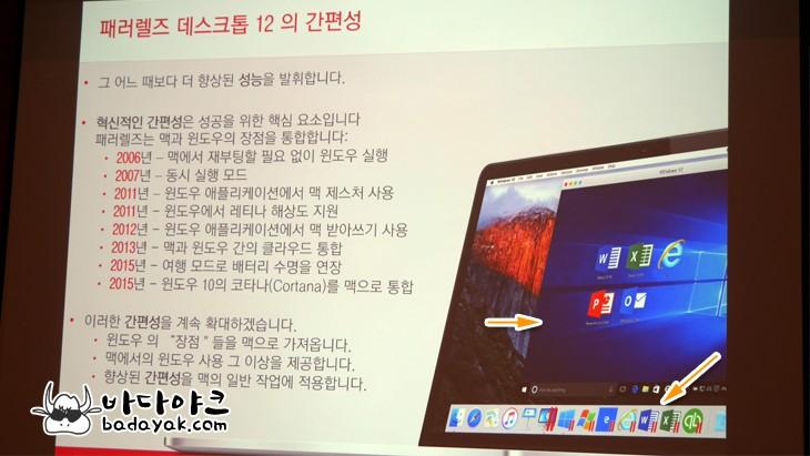 애플 맥 가상화 소프트웨어 패러렐즈 데스크톱12