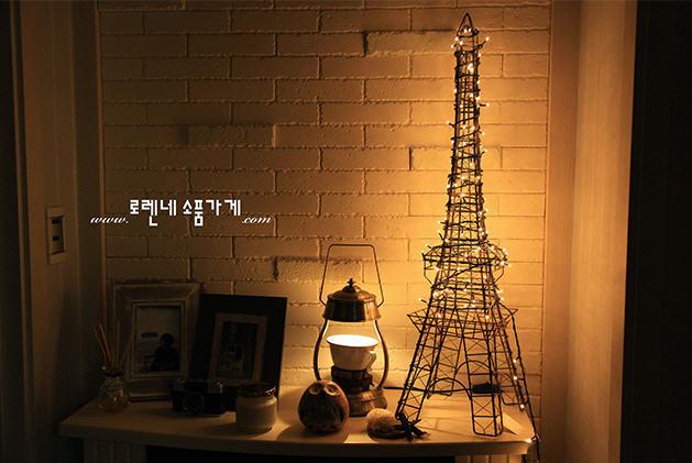와이어 에펠탑 트리 '크리스마스' 분위기 만드는 소품 추천 ...