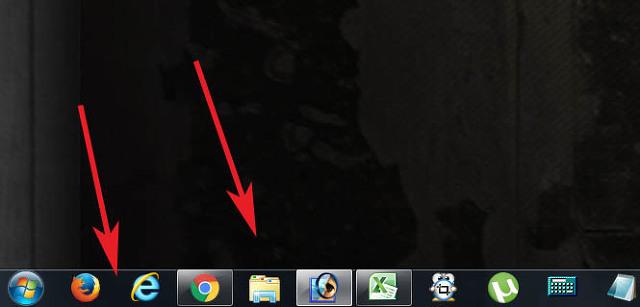 윈도우7 작업표시줄 크기 조절 조정하는 방법
