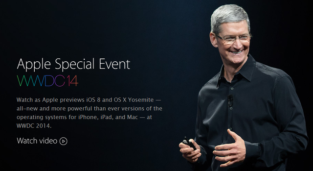 Apple WWDC 2014 Keynote