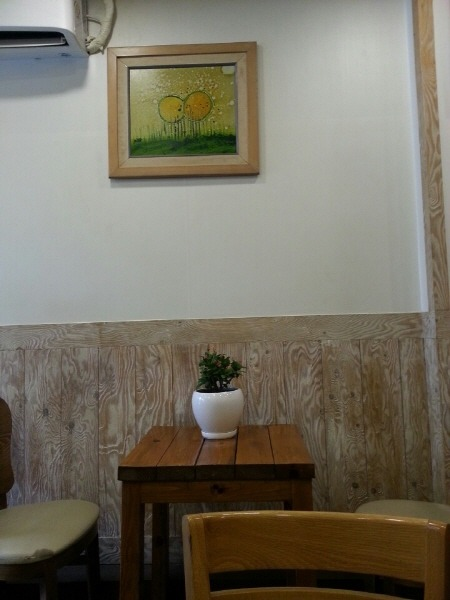 중림시장 카페