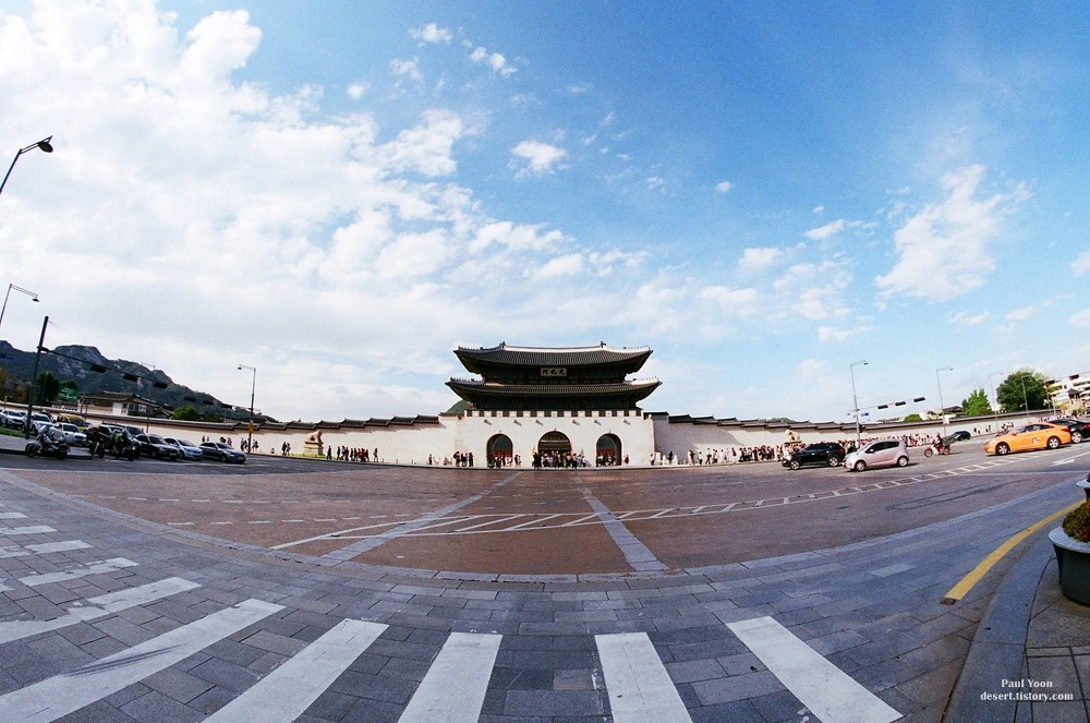 Gwanghwamun with AGFA PHOTO 200 vista plus