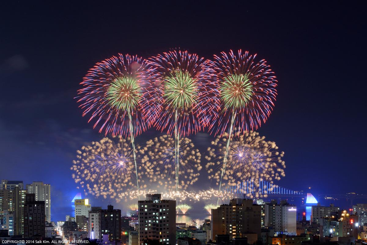 2014 제10회 부산 불꽃축제
