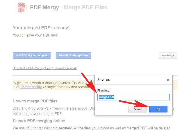 pdf 파일 통합 합치기 방법