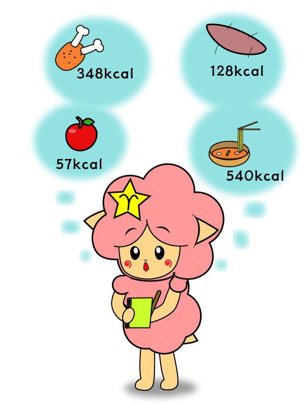 음식 칼로리 계산