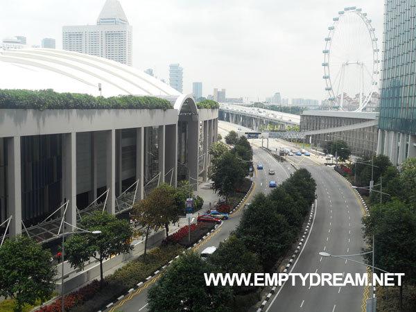 싱가포르 여행 - 한낮에 마리나 베이