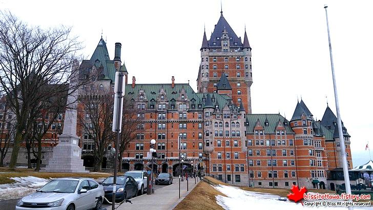 캐나다 동부여행 퀘벡시티 영국 & 프랑스 장군 기념비