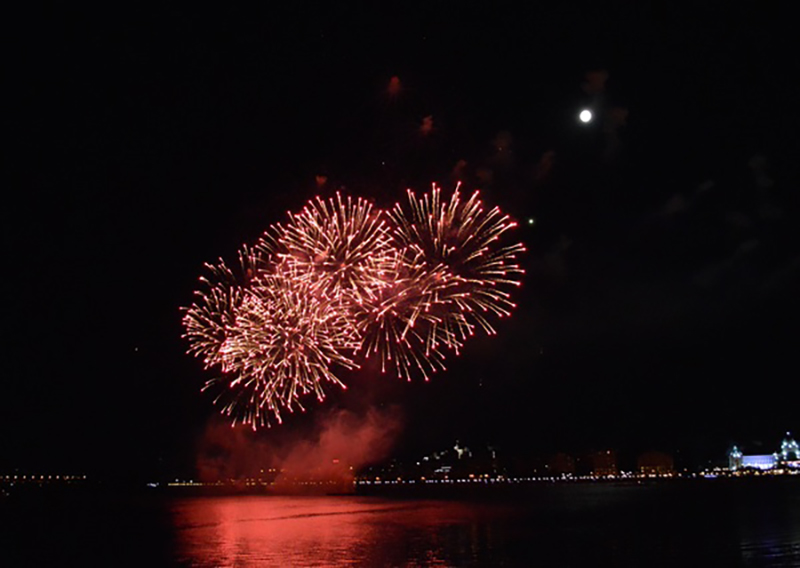 Festive night beautiful fireworks HD picture 06