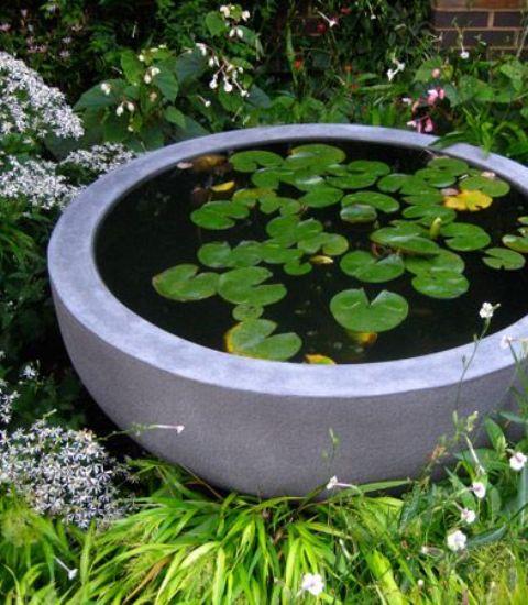 아름다운세상 :: 작은 정원 아이디어 - 신선한 미니 연못