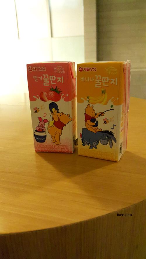 서울우유 딸기꿀딴지 & 바나나꿀단지