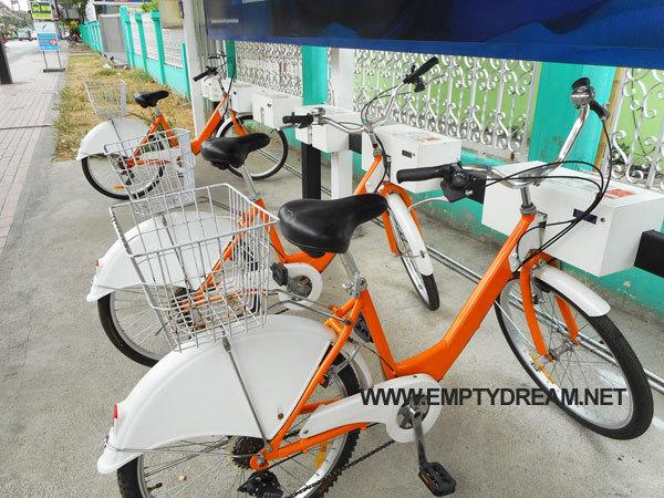 치앙마이 공공자전거