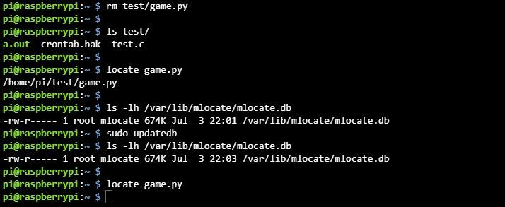 리눅스 locate 명령어 문제점 해결